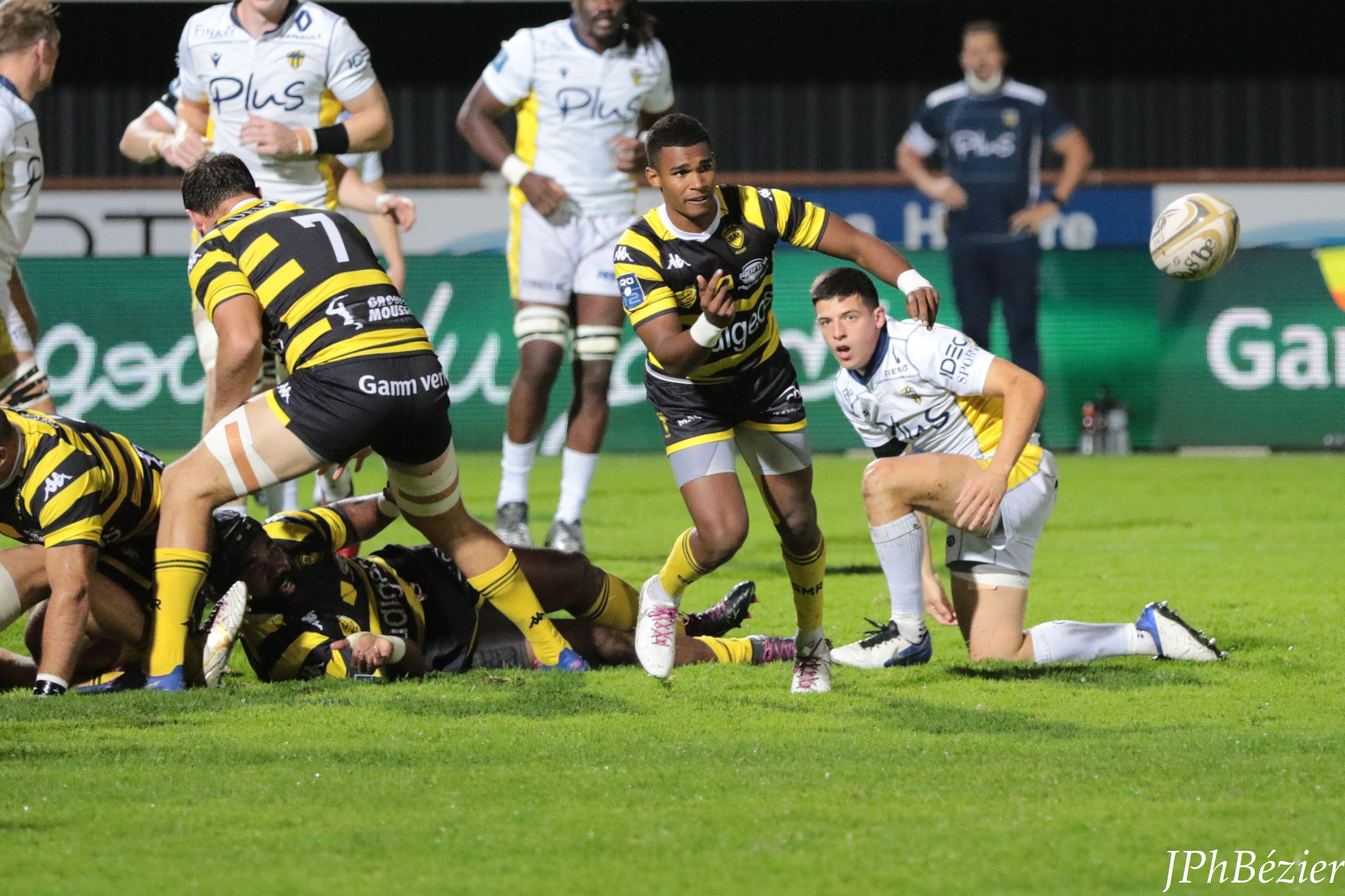 Léo Coly du Stade Montois Rugby