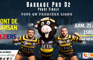 Barrage Pro D2 - Phase Finale
