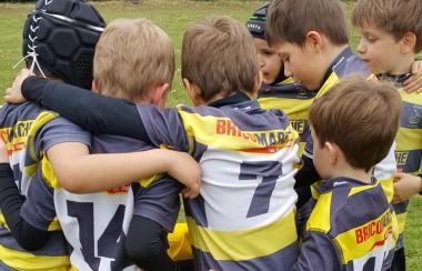 Ecole de Rugby du Stade Montois ......on rechausse les crampons !
