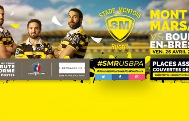 Présentation du match #SMRUSBPA
