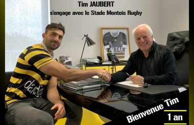 Tim Jaubert en Jaune et Noir