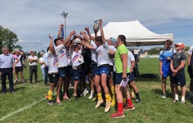 Titre de Champion de France pour la Section Rugby - Lycée Despiau