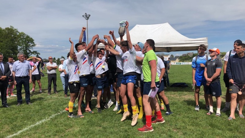 Titre de Champion de France pour la Section Rugby - Lycée Despiau