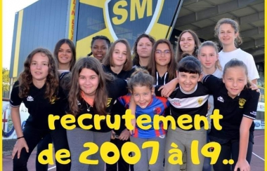 Le Stade Montois Rugby Féminin recrute
