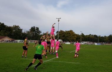 Victoire des Espoirs contre le Stade Français 16/13
