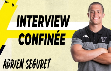 Interview confinée - Adrien Seguret