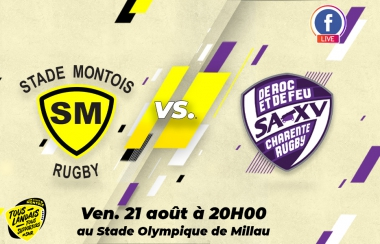 Premier test pour le Stade Montois Rugby