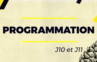 Programme J10 et J11