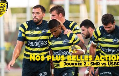 Stade Montois / Bourg-en-Bresse : nos plus belles actions