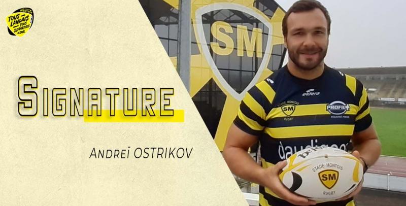 Signature Andrei OSTRIKOV