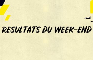 Résultats du week-end | 16 & 17 Octobre