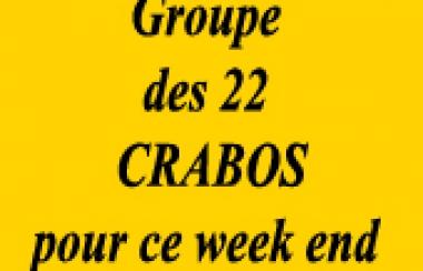 RAPPEL Groupe Crabos pour le déplacement à Oloron