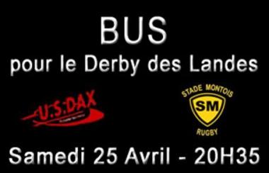Horaires des Bus pour le Derby