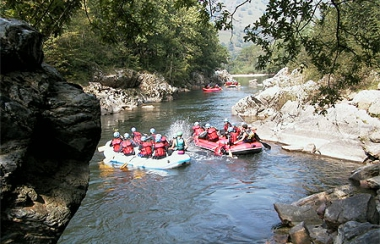 Sortie Canyoning / Rafting