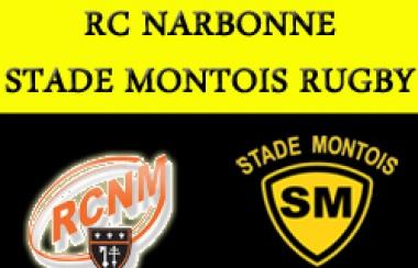 Arbitres de la rencontre RC Narbonne - SMR