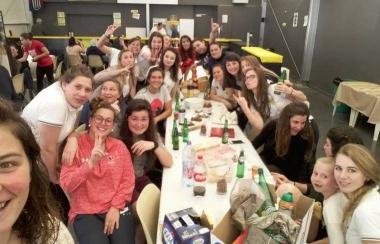 Féminines : 14ème victoire ...  19 à 00 contre Bruges-Blanquefort