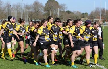 1/4 de finale Fédérale 1 F : Stade Montois Rugby / Clermont La Plaine