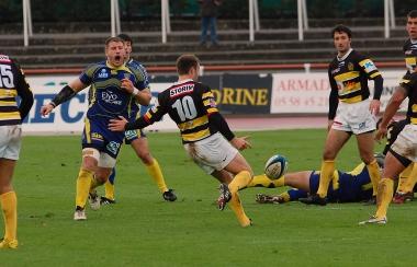 Composition du Stade Montois Rugby contre le Stade Toulousain