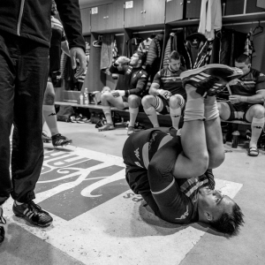 Image de Dans les vestiaires du Stade - Cyrille Vidal